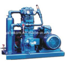 Compresseur de gaz de pétrole liquéfié à goutte à vide à piston sans huile (KZW4.0 / 10-16)