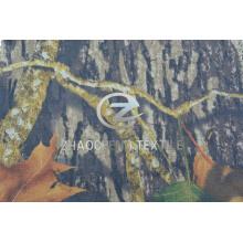Tecido de algodão de sarja 100% 2/1 com camuflagem florestal (ZCBP255)