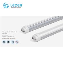 LEDER Dimmable Aluminum 6000K 3ft LED Tube Light