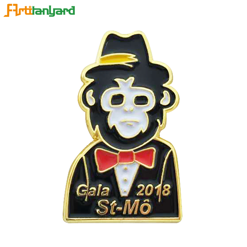 Personalized Soft Enamel Plated Badges
