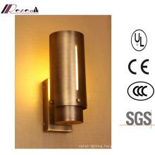 Zhongshan Factory Antique Brass 18W LED Wall Lamp