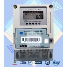 Счетчик электроэнергии с однофазной картой IC Prepaid с системой вендинга