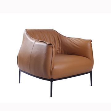 Modern Archibald Läder Accent Chair Replica