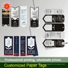 etiquetas de papel oscilación
