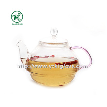 Clear Single Wall Glass Teapot by SGS (550ML)