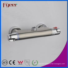 Fyeer Temperature Control Nickle Brushed Thermostatic Shower Faucet (QH0202S)