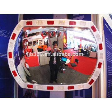 20x30 inch plastic outdoor traffic reflective convex mirror