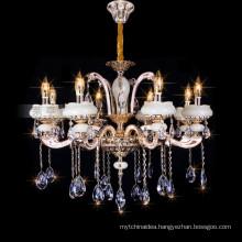 Modern Hotel Lamp, Candle Chandelier Crystal Light, Crystal Pendant Lamp 88632