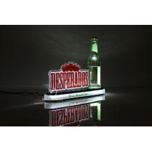 Glorificador de garrafa de acrílico led