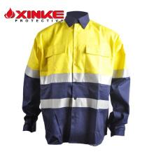 Camisas resistentes al corte de alta calidad qulity 100% algodón