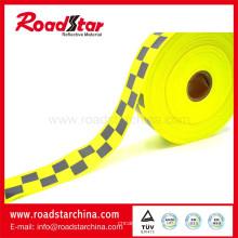 Auch gelbe Farbe Reflektor Warnung Tuch zu verkaufen
