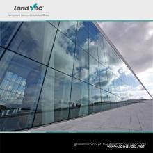 Landglass Prédio Comercial Vidro de Vácuo de Alta Transmitância com Vidros Duplos