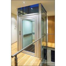 Aço inoxidável espelho gravura casa elevador/elevador