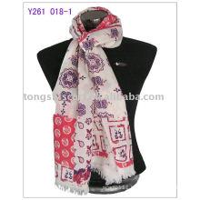 2013 newest 100%wool pashmina scarf