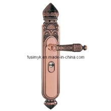 Nuevas manijas de puerta de bronce rojas del diseño (FA-6011XX)