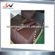 custom strong magnet with rubber flexible magnet