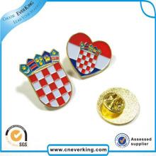 Рекламные подарки Пользовательский металлический эмаль Pin Значок