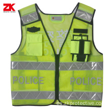 Police Mesh Ropa reflectante desechable
