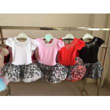 vestido del tutú del vestido del bailarín de las muchachas del bebé para las muchachas del niño
