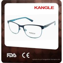2017 Molduras ópticas de metal de alta qualidade para óculos unisex, metal, óculos de metal