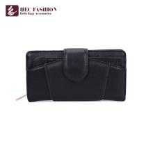 HEC Manufacturer Pvc Material Wallet Retro Style Ladies Hand Purses