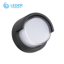 LEDER Circular Down 12W Outdoor Wall Light