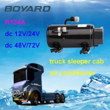 Vereinigen Motor r134a 12v Auto Auto AC Kompressor Boyard hb075z24 für LKW montiert Kranrahmen Carbon Road DC 24V Klimaanlage