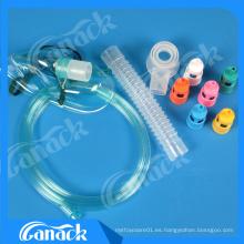 Máscara ajustable de Venturi para productos médicos con seis diluyentes