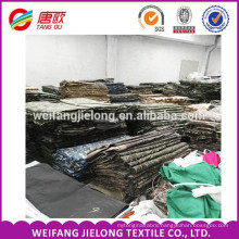 New 100%polyester camouflage color stock fabric High Quality Stock TC Camouflage Fabric for Military Clothing