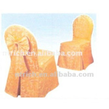 100%polyester jacquard chair cover and tablecloth for banquet,hotel