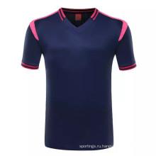 Новая модель Детская футбольная команда одежда футбол униформа дети футбол Джерси с сублимационной