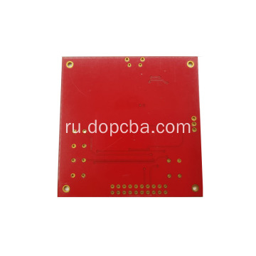 4layer Red Solder Mask Prototype PCB Circuit Board