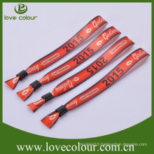 Wholesale directly custom fabric wristband with name