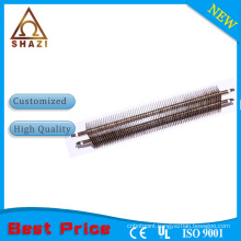 room warming hot air heating element finned