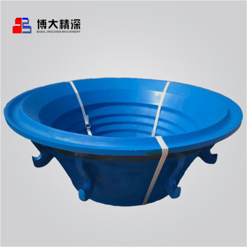 Mangan Mn18Cr2 Mantle Bowl Liner für Symons 7FT
