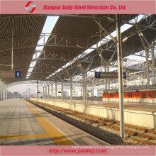 Дизайн Металлическая крыша Металлическая крыша для железнодорожного вокзала 2017