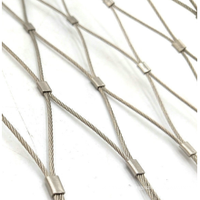 stainless steel Architectural Diamond rope zoo mesh