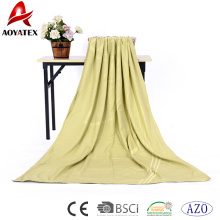 100% modacrylic jacquard flamme retardant anti-static two-layer airline blanket