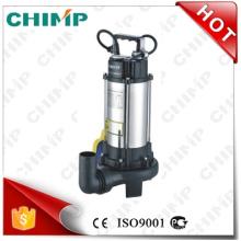 Chimp Chinese Manufacture Schneiden Impeller 1.1kw Abwasser Wasserpumpen (V1100D)