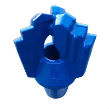 "Hot sale 152.4 mm 6 "" alloy steel step 3 blade chevron type drag bits for water well"