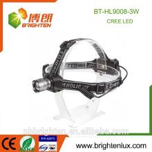 Vente en gros en gros de phares Zoomable multi-fonctions 3 mode Aluminium 3 * aaa 160 lumens mineur projecteur