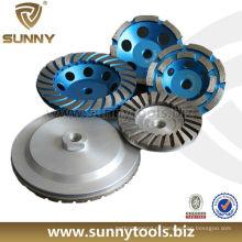 Venda quente ensolarado único turbo diamante copo roda (sy-DTW-77)