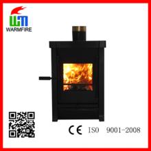 CE nível WM-HL203, inserir moldura de aço quentes Warm madeira lareira