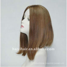 Un processed Natural European french top wigs