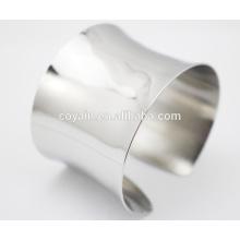 Nueva moda al por mayor barata de la pulsera del brazalete del pun ¢ o del acero inoxidable