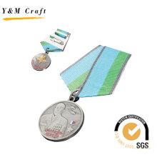 Neues Design angepasst Metall Medaille mit Logo (Q09597)