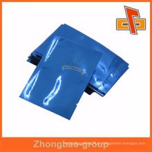 Folha de alumínio azul Mylar Bags Embalagem a vácuo