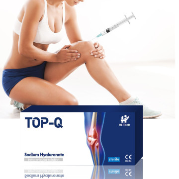 Injection d'articulation de genou de gel d'acide hyaluronique de 2 ml pour l'orthopédie