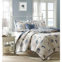 Madison Park Bayside Seashells Printed Coverlet Bedspread Set