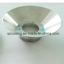 CNC torneamento alumínio usinagem protótipo serviço lâmpada escudo